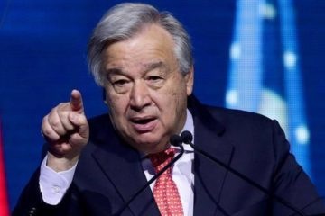 UN Chief - ANTONIOGUTERRES